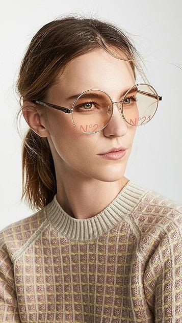 No. 21 Большие круглые солнцезащитные очки