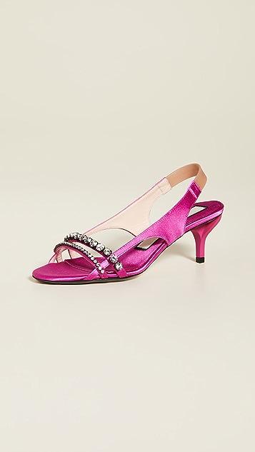 No. 21 Slingback Sandals