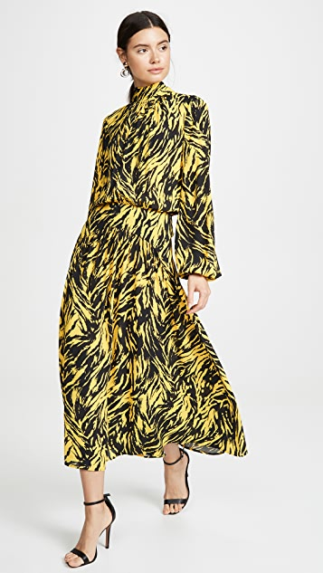 No. 21 Graphic Print Dress
