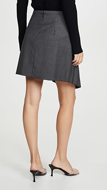 No. 21 Pleated Skirt