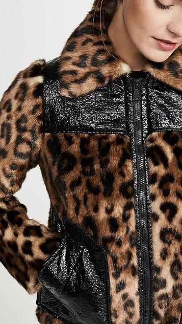 No. 21 Жакет с леопардовым принтом