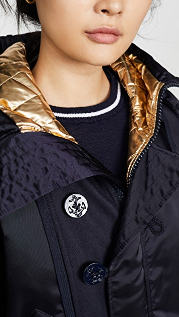 No. 21 Button Detail Bomber