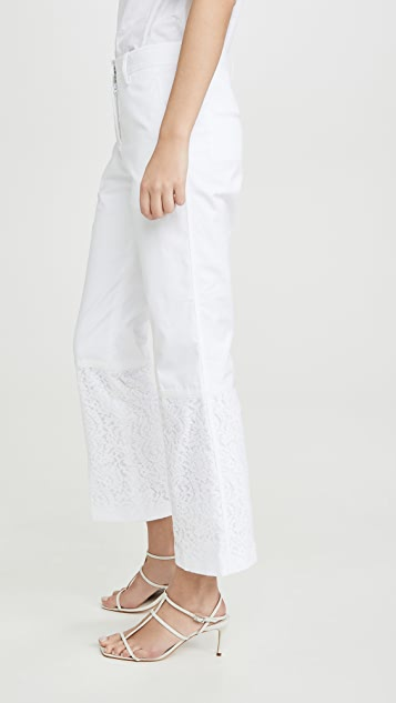 No. 21 Crop Flare Trousers