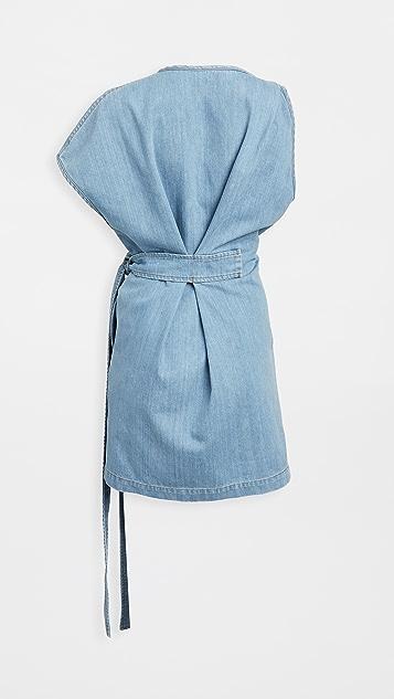 No. 21 Mini Tie Dress