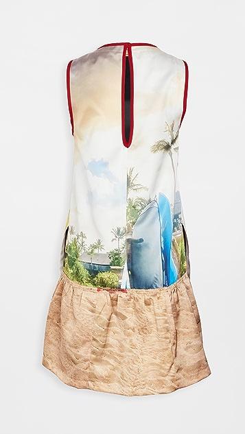 No. 21 棕榈树连衣裙