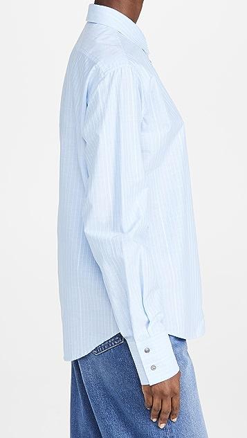 No. 21 系扣女式衬衫