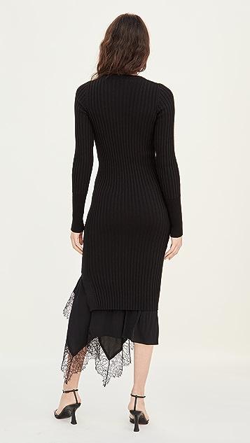 No. 21 Long Sleeve Knit / Slip Dress
