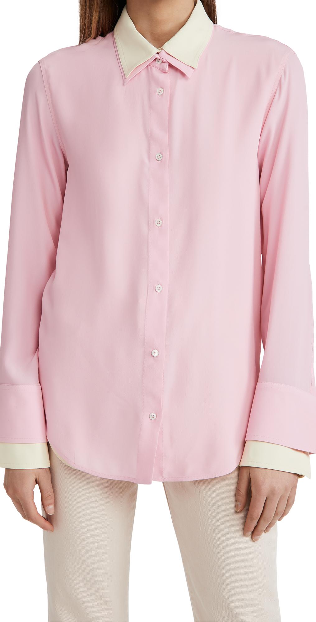 No. 21 Double Layer Silk Shirt