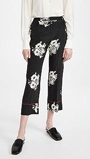 No. 21 Print Pajama Pants