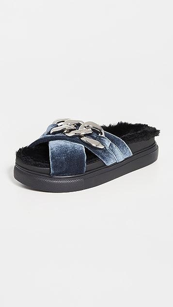 No. 21 Fussbett Slip On Sandals