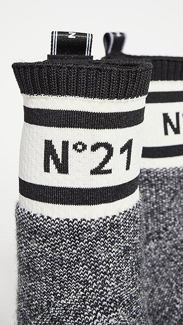 No. 21 Sock Boots