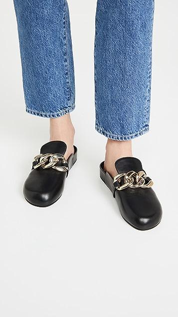 No. 21 链条平底穆勒鞋