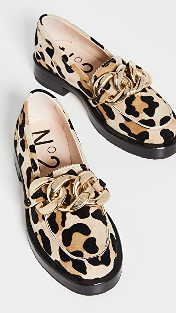 No. 21 Chain Loafers