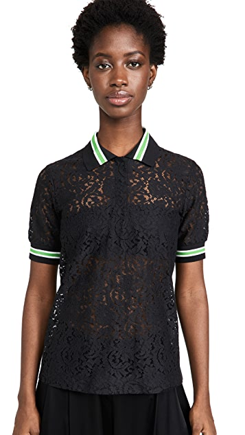 No. 21 Lace Polo Shirt