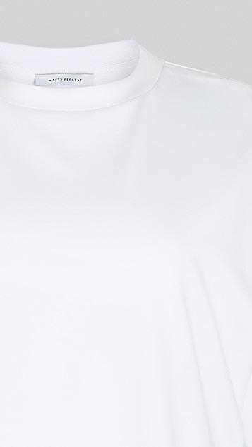 Ninety Percent 超大 T 恤