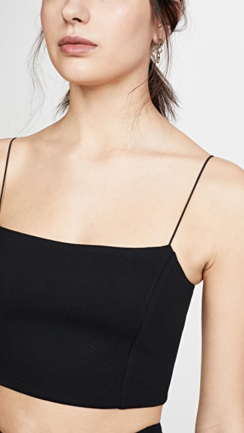 Ninety Percent Stretch Jersey Crop Top