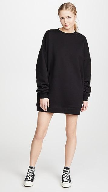 Ninety Percent Jumbo 运动衫式连衣裙