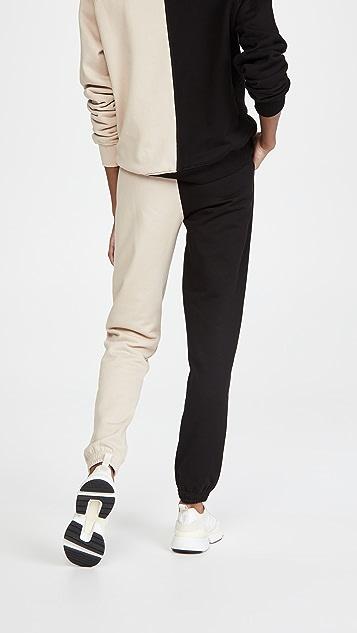 Ninety Percent 双色运动裤