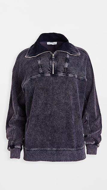 Ninety Percent Stonewash Pop Over Shirt