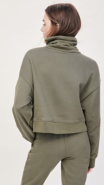 Ninety Percent Funnel Neck Sweatshirt