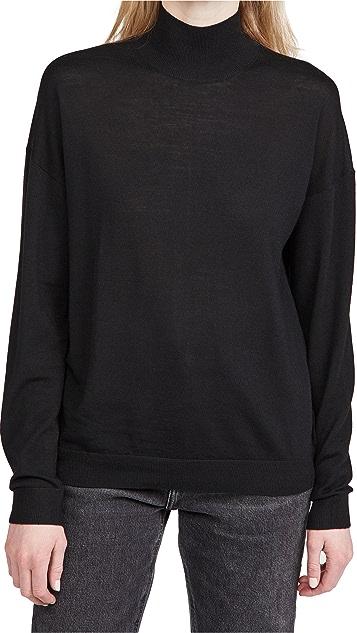 Ninety Percent Merino Oversized Turtleneck Sweater