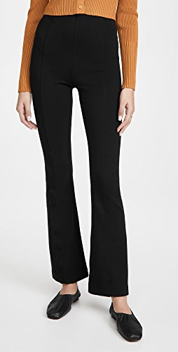 Ninety Percent - Compact Cotton Kick Flare Pants