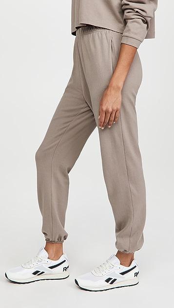 Ninety Percent Slim Leg Bell Hem Sweatpants