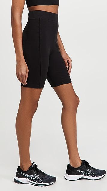 Ninety Percent Compact Paneled Cycling Shorts
