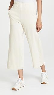 Ninety Percent Cotton Welt Pocket Culottes