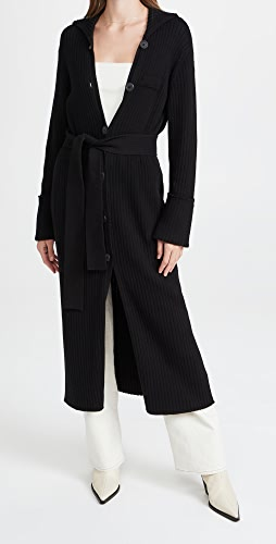 Ninety Percent - 系腰带开襟外套