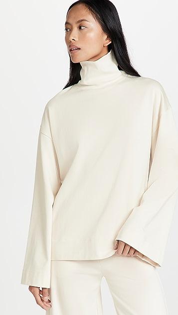 Ninety Percent Heavy Cotton Rib Sleeve Top