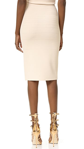 Narciso Rodriguez Knit Pencil Skirt