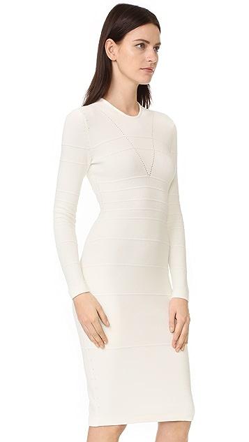 Narciso Rodriguez Long Sleeve Dress