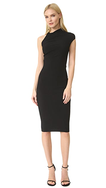 Narciso Rodriguez Short Sleeve Dress