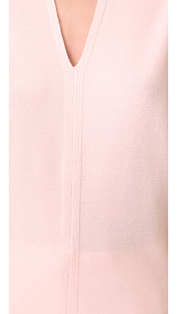 Narciso Rodriguez Cocoon Short Sleeve Top
