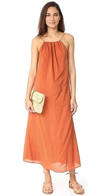 9seed Mykonos Tie Strap Maxi Dress