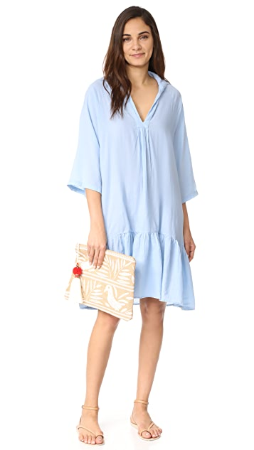9seed Belize Ruffle Mini Dress