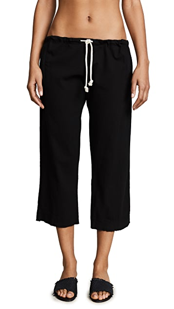9seed Hamptons Drawstring Crop Pants
