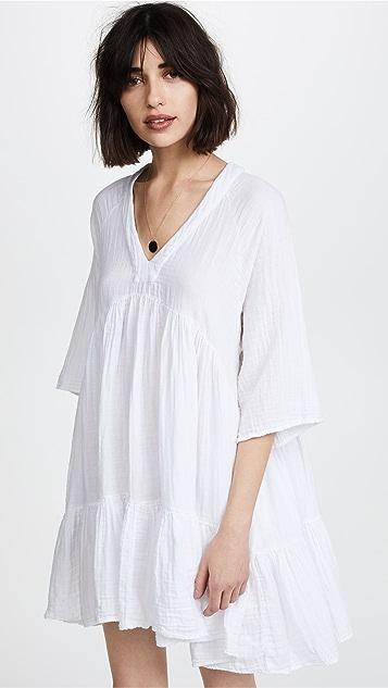 9seed Платье Marbella с оборками