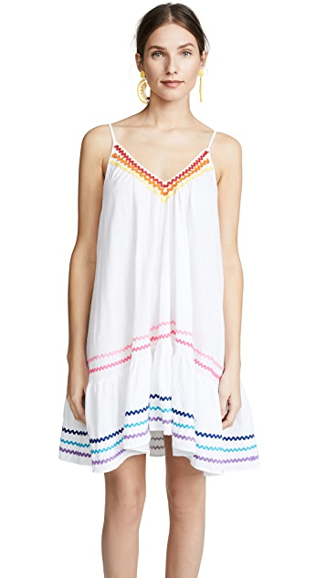 9seed Пляжное мини-платье с оборками St. Tropez