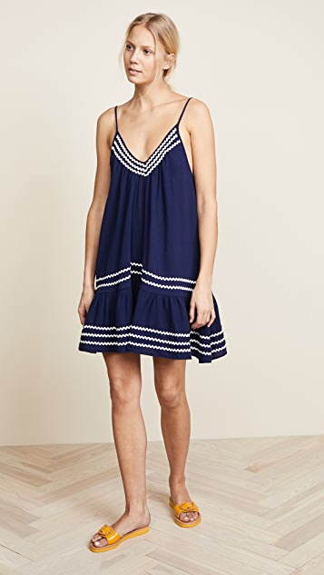 9seed St. Tropez Ruffle Mini Dress