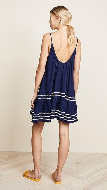 9seed Мини-платье St. Tropez с оборками