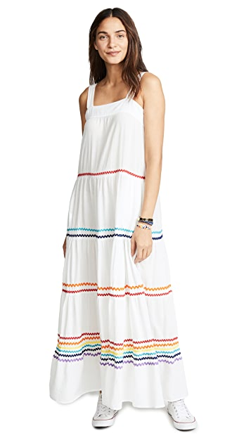 9seed Sayulita Tier Maxi Dress
