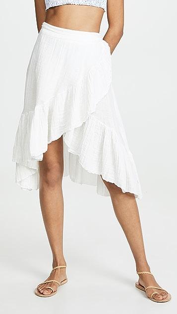 9seed 迷你裹身半身裙