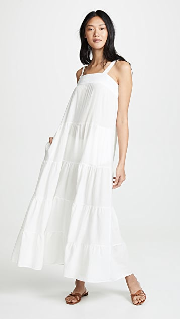 9seed Sayulita Dress - White