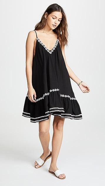 9seed Платье St Tropez с вышитыми маргаритками