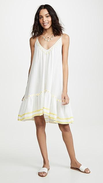 9seed Платье St. Tropez с вышитыми маргаритками