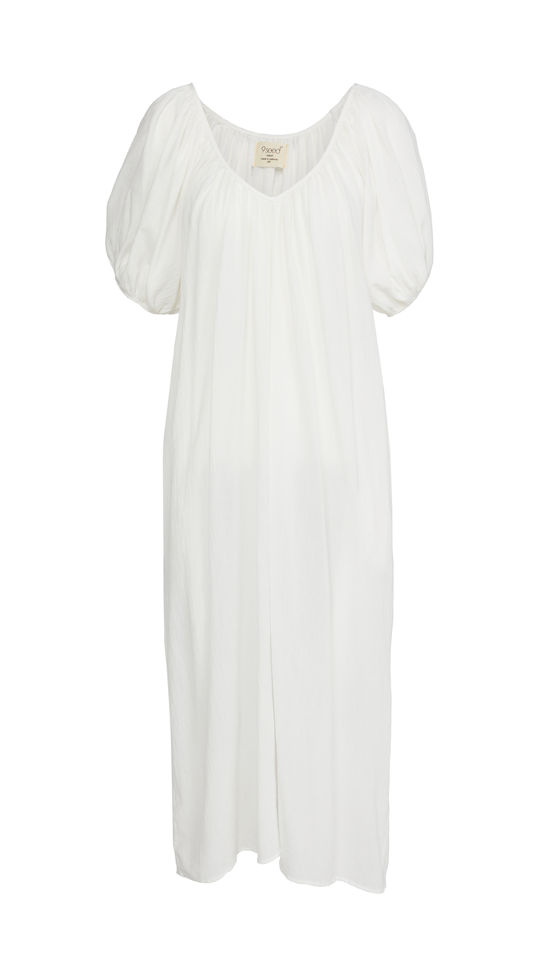 9seed Sand Hill Puff Sleeve Dress