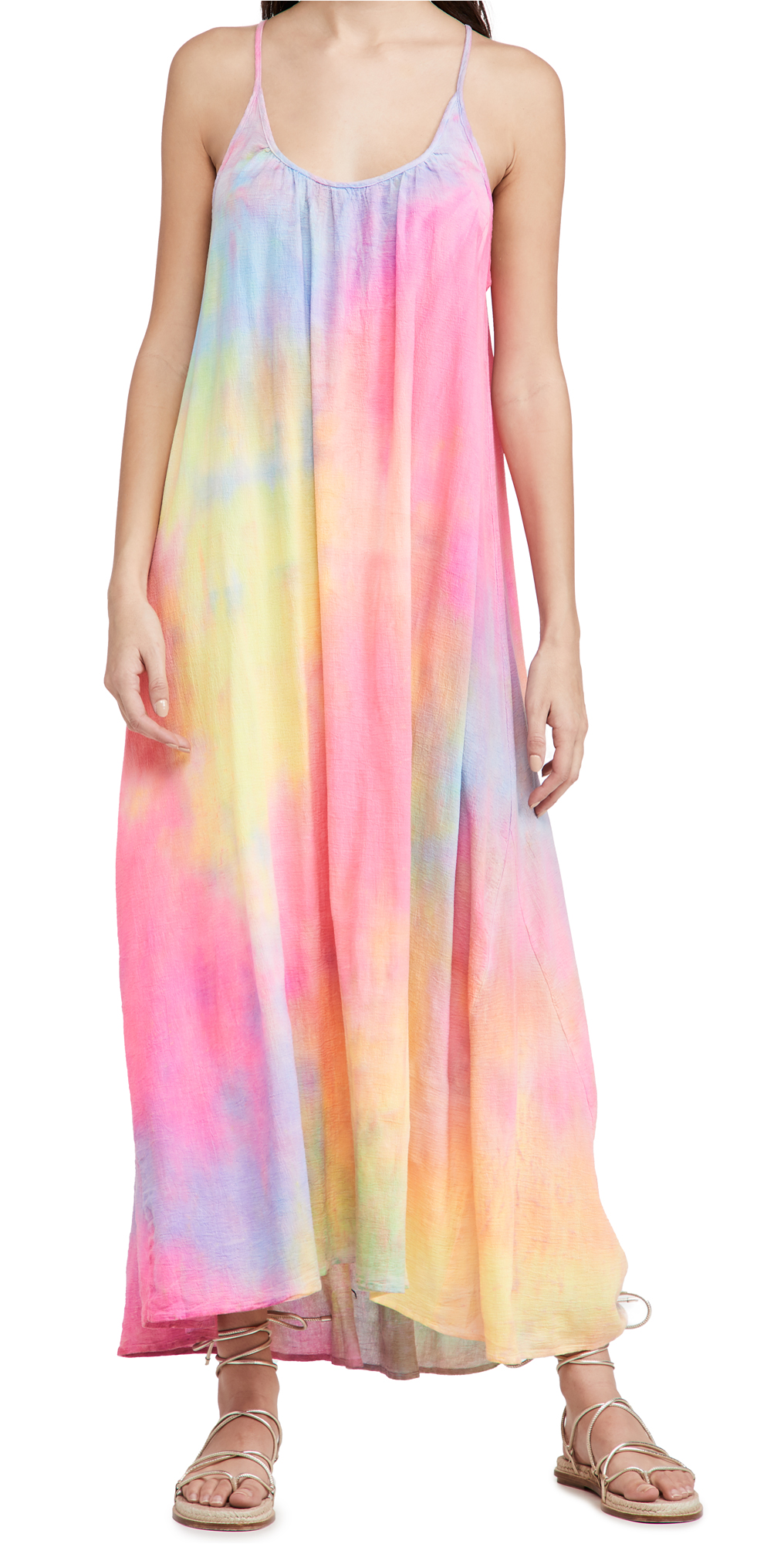 9seed Tulum Dress Neon Tie Dye