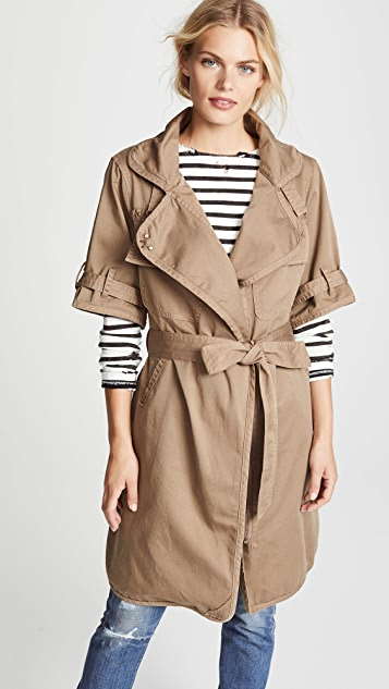 NSF Kayu Trench Coat